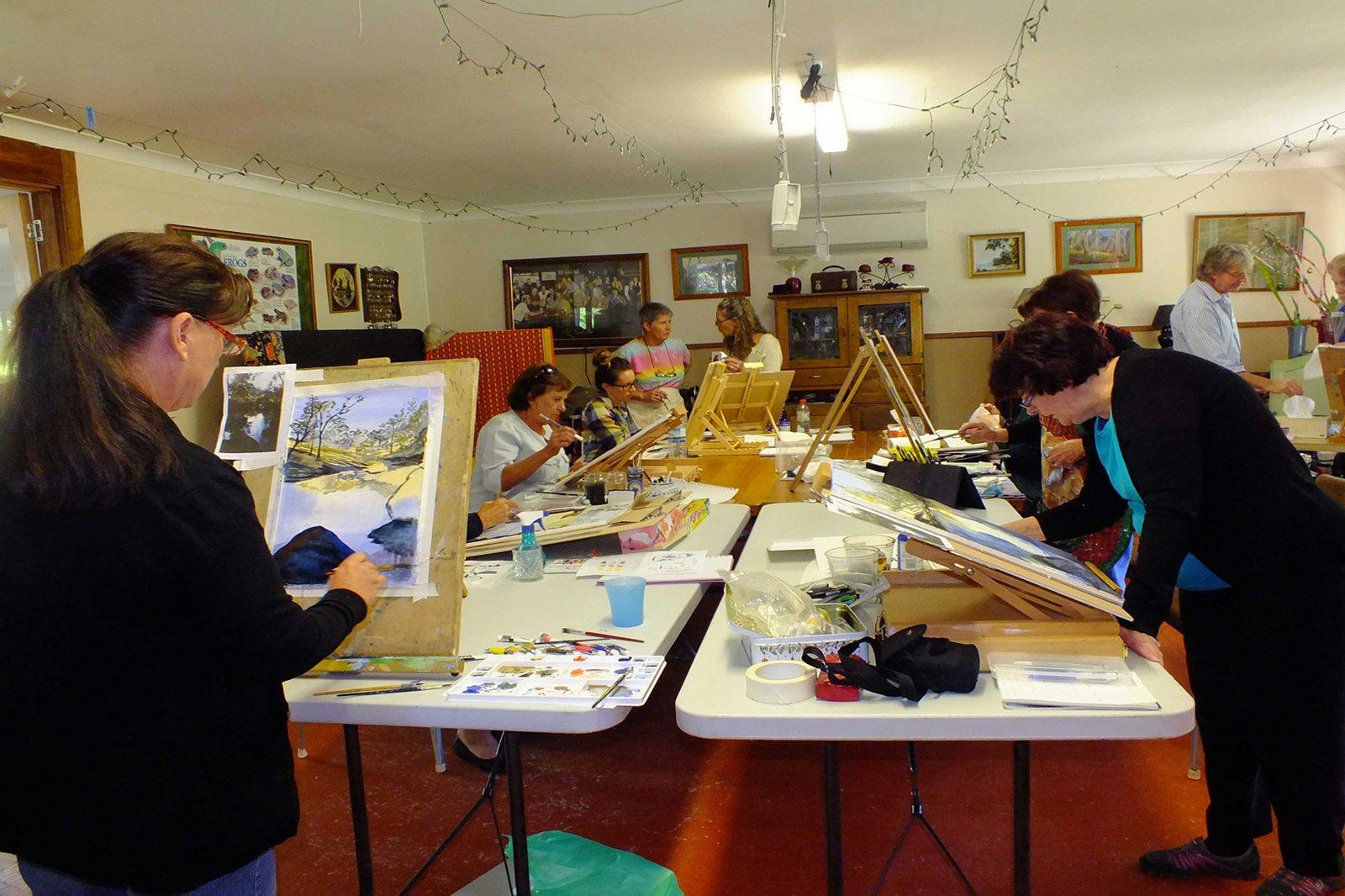 retreat, art and craft, accommodation sydney, farmstay, cottage