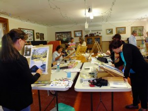 Art Classes in Studio